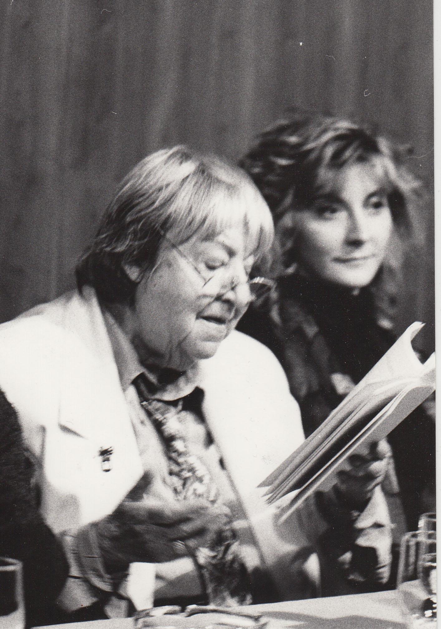 Gloria Fuertes y Margarita Márquez Padorno