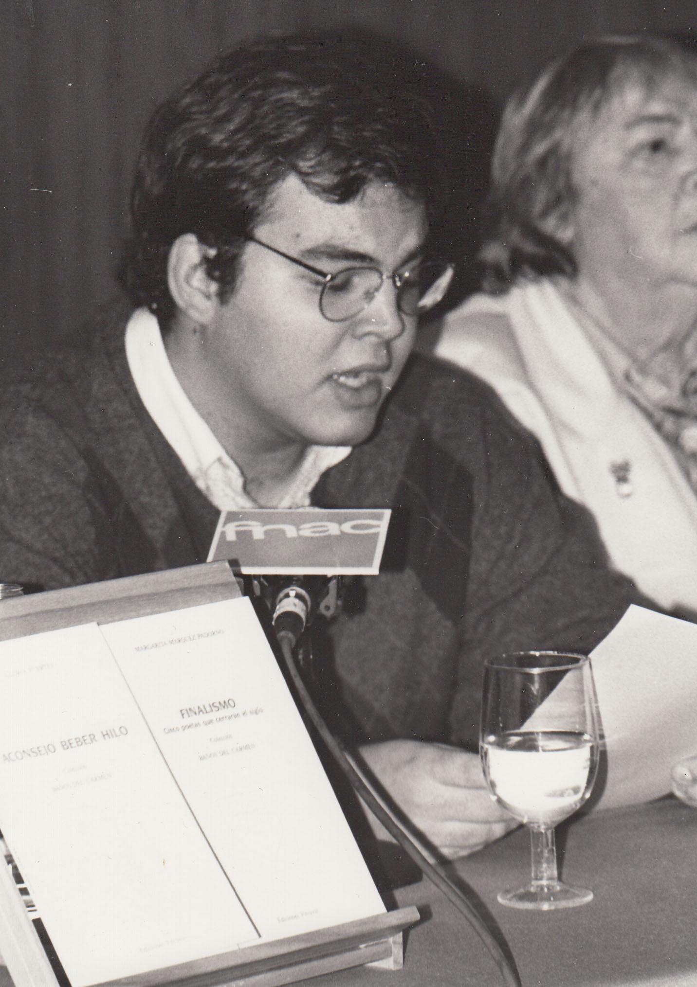 Pablo Méndez y Gloria Fuertes (1996)